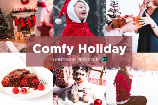 Comfy-Holiday-presets-pack-banner