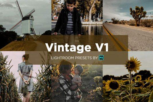vintage-v1-lightroom-preset-pack